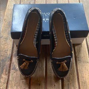 Sorry Blue deck shoes